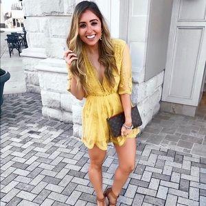 Pants - Yellow romper